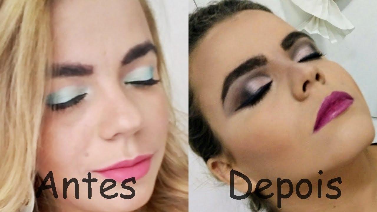 Como eu me maquiava antes vs agora (como maquiadora)