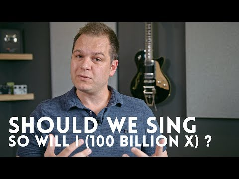 So Will I (100 Billion X) mentions evolution. Should we stop singing it?