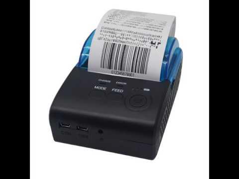 Shenzhen Zijiang Electronics Co..Ltd - ZJ-5805 2 inch bluetooth printer