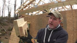 How To Build A Pole Barn Pt 6 - Sheeting & Wrapping