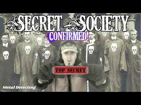 Treasure Hunters uncover SECRET SOCIETY existence while Metal Detecting