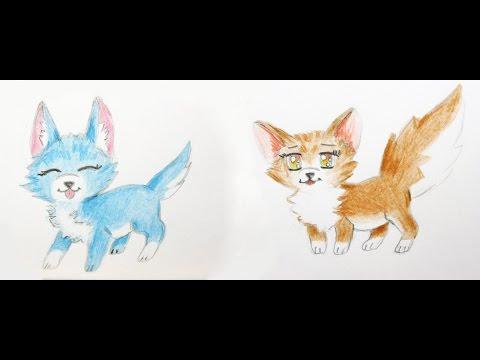 Manga Tiere zeichnen lernen #3: Fuchs und Hund / Manga Zeichenkurs / Comic Tiere