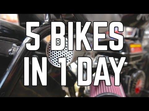 5 Mini Bikes in 1 Day: Prep for Adventure