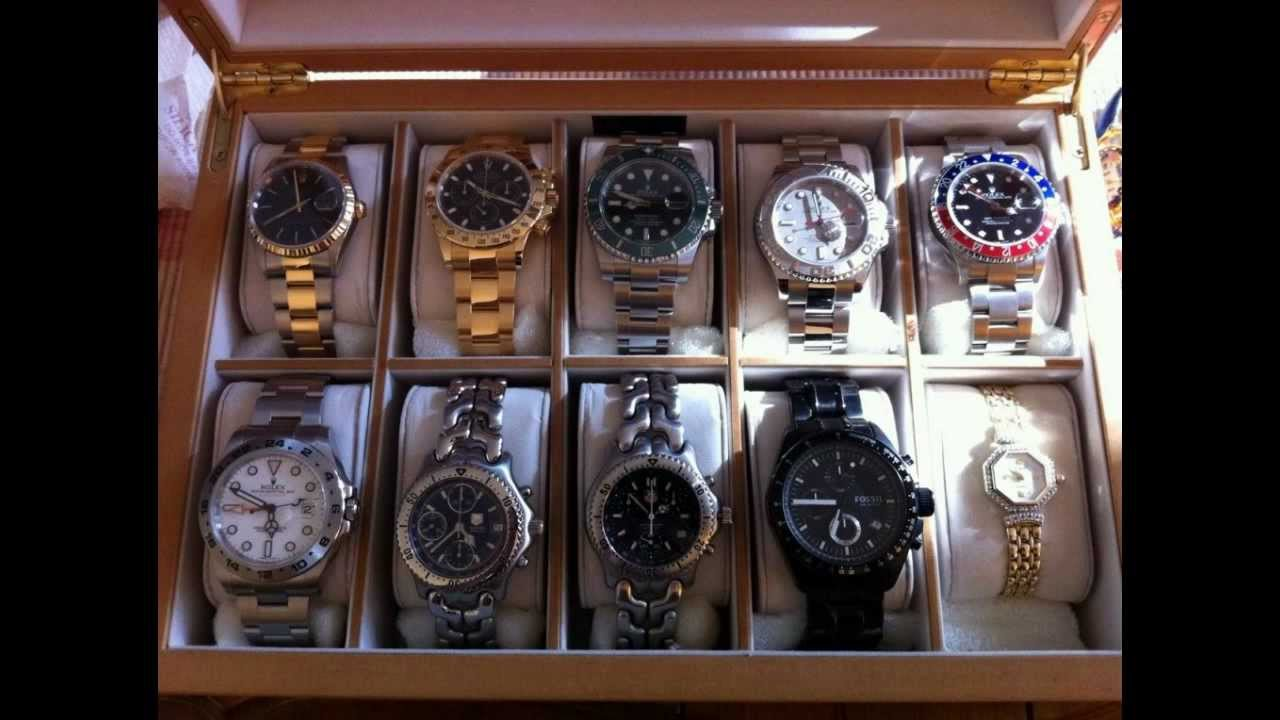 Luxury watch collection in 1 photo part 1 paul pluta for Luxury home collection