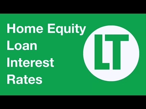 Home Equity Loan Interest Rates