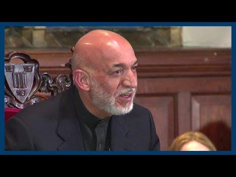 Afghanistan's Economy | Hamid Karzai | Oxford Union