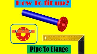 Video How to fit up pipe to flange? download MP3, 3GP, MP4, WEBM, AVI, FLV Agustus 2018