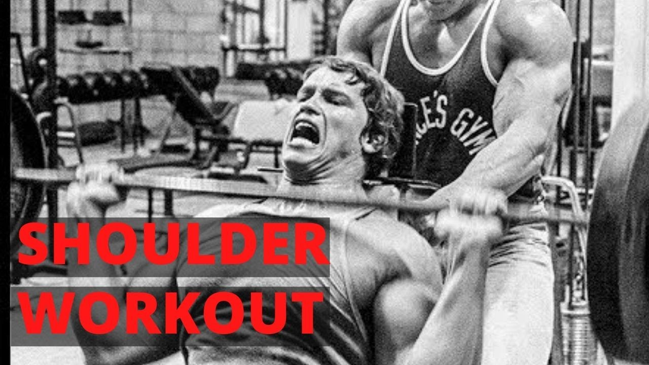 Arnold Schwarzenegger Bodybuilding Workout  - The Best Shoulder Workout for Mass