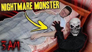 *SCARY* I SUMMONED THE MONSTER FROM MY NIGHTMARES AT 3 AM AND THIS HAPPENED...