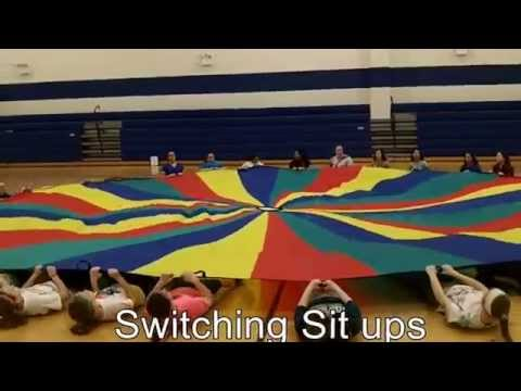 Kate Steele - Parachute Physical Education Lesson