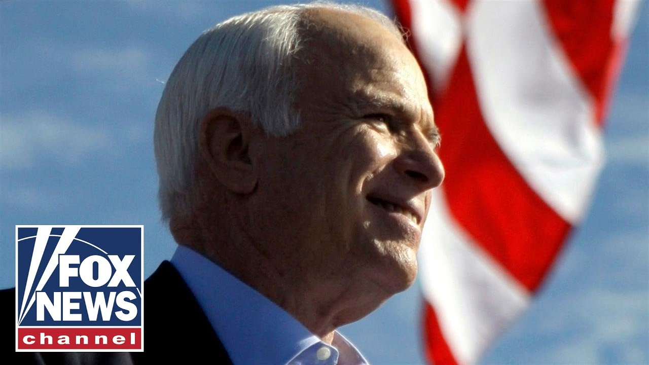 Family spokesman reads farewell letter from John McCain