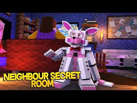 Minecraft Fnaf: Hello Neighbors New Secret Room (Minecraft Roleplay)