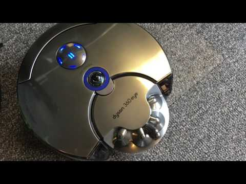 Dyson 360 eye Robot Vacuum Cleaner - Mammoth Real Life Gadget Review
