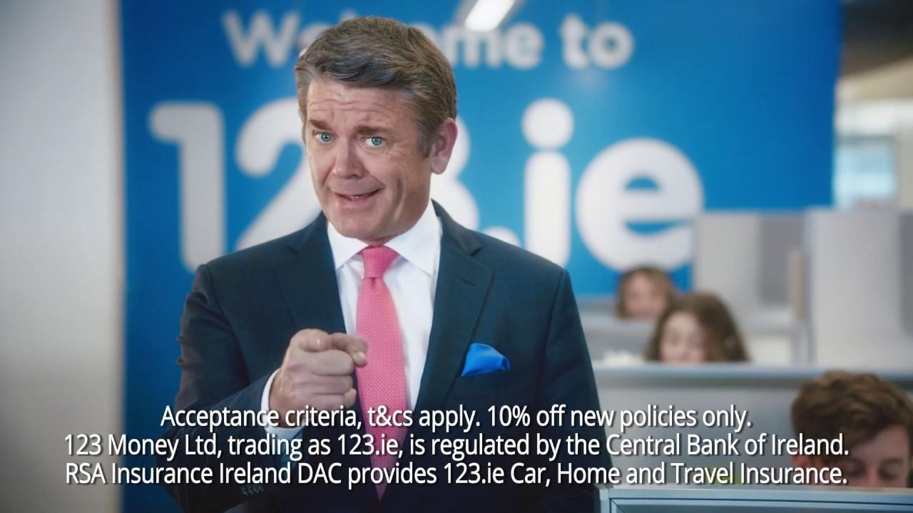 123.ie brand 20 sec car insurance ad Jan 2020 - YouTube