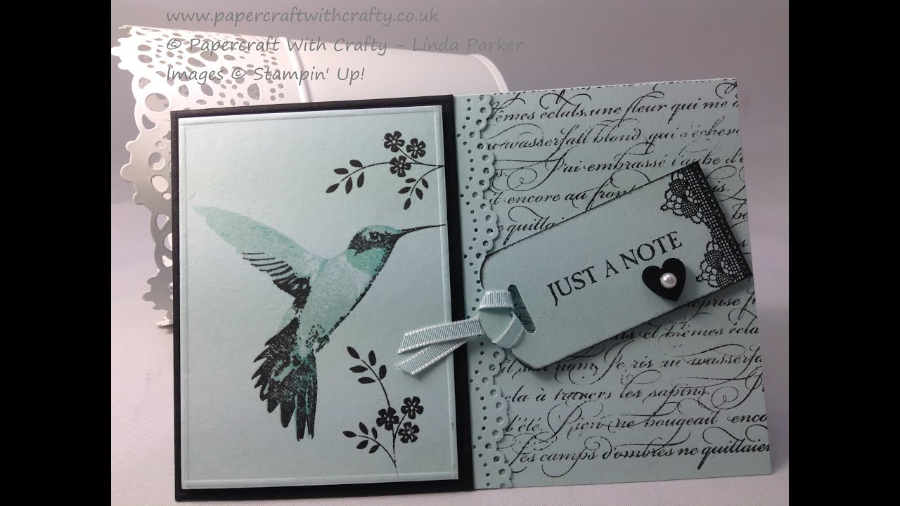 Humming Bird Card Picture Perfect Stampin Up YouTube