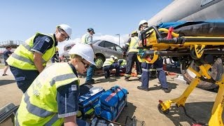 2013 Trauma Week for QUT paramedic science students
