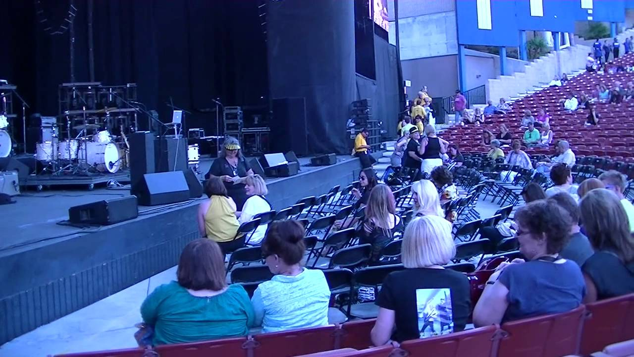 Seating At Pacific Amphitheatre