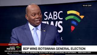 BDP wins Botswana elections 2019 |  Political Analyst Gideon Chitanga weighs in