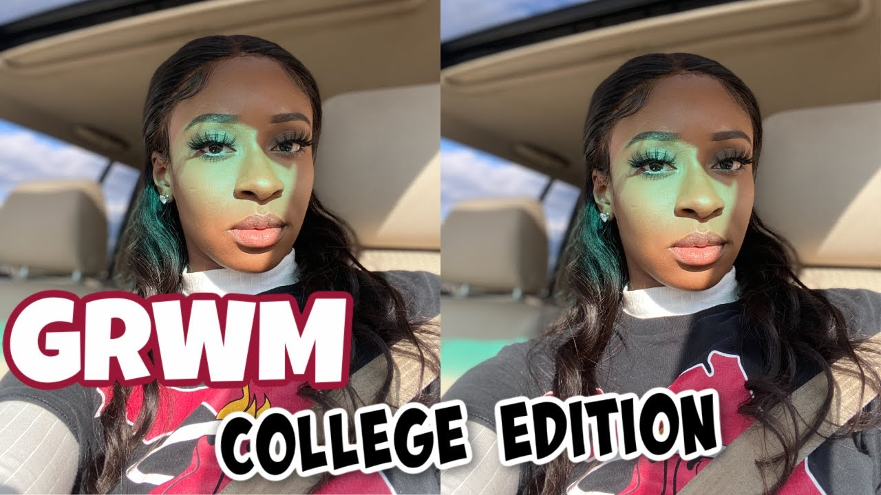 Grwm For Class Online College Edition Janai Imani Youtube First day of college edition welcome back to another video, actually my first video. youtube