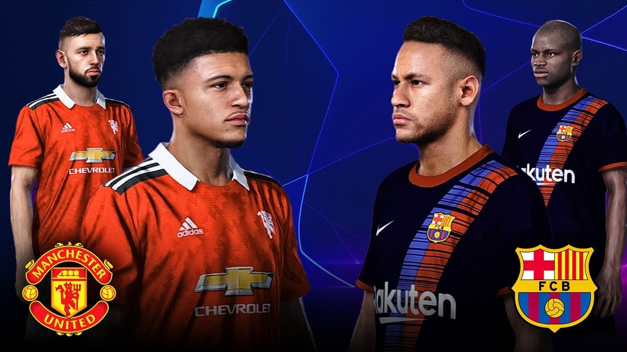 Manchester United Vs Barcelona 2020 21 Season Updated Kits Teams Youtube