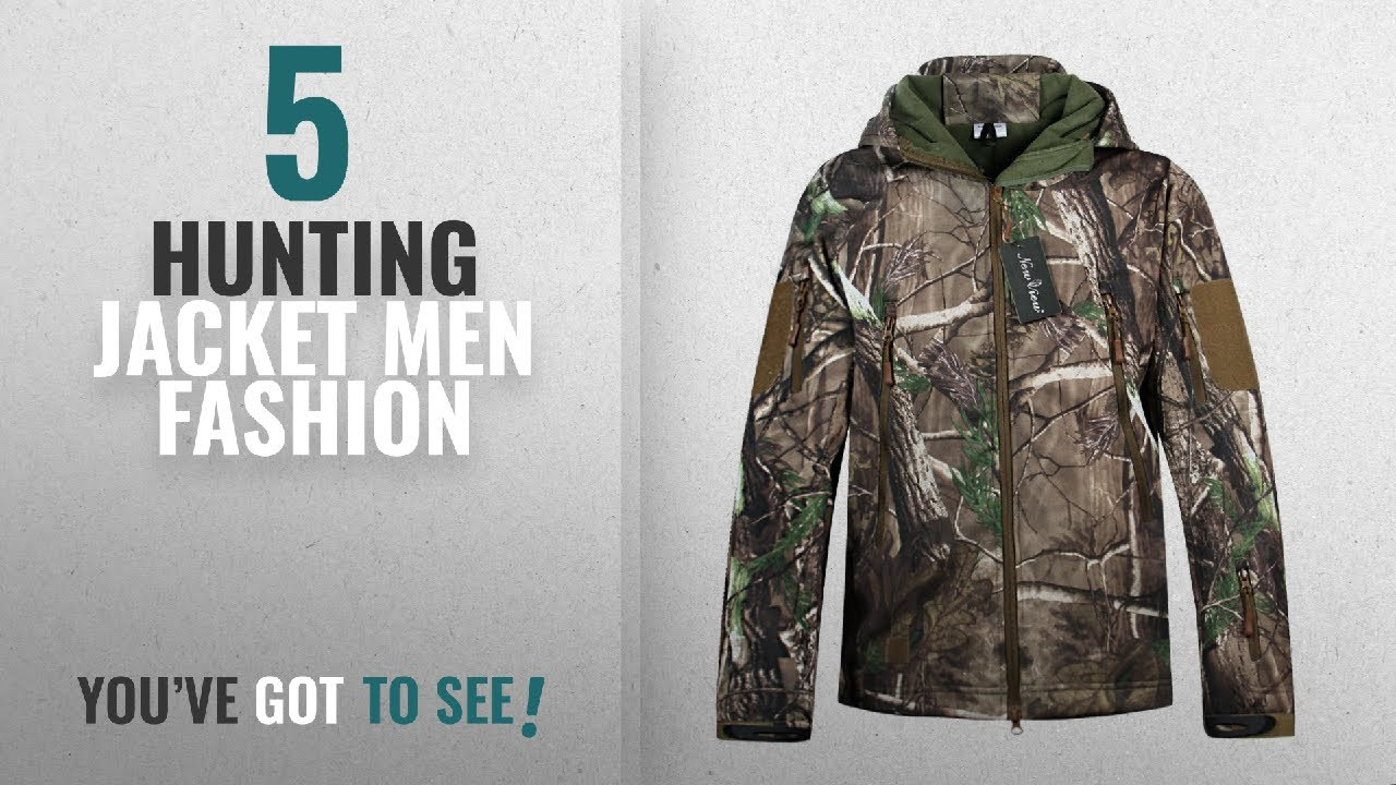 8e5026a5a8f78 Top 10 Hunting Jacket [Men Fashion Winter 2018 ]: Hunting Jackets  Waterproof Hunting Camouflage