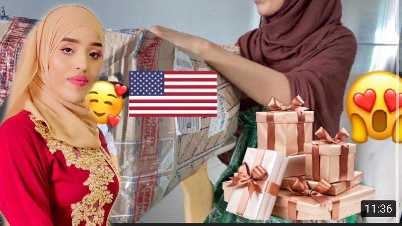 HADIYAD LEYGA KEENAY AMERICA 😍 GIFT FROM USA 🎁