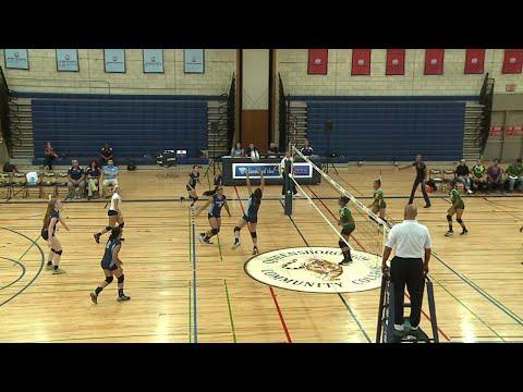 Women's Volleyball: Queensborough vs. Bronx CC (09/15/2016)