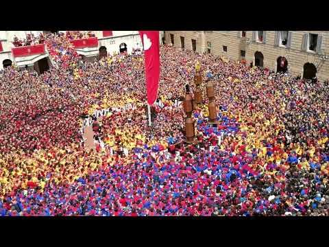 GUBBIO - Festa Dei Ceri 2019, L'Alzata In Piazza Grande (www.cronacaeugubina.it)