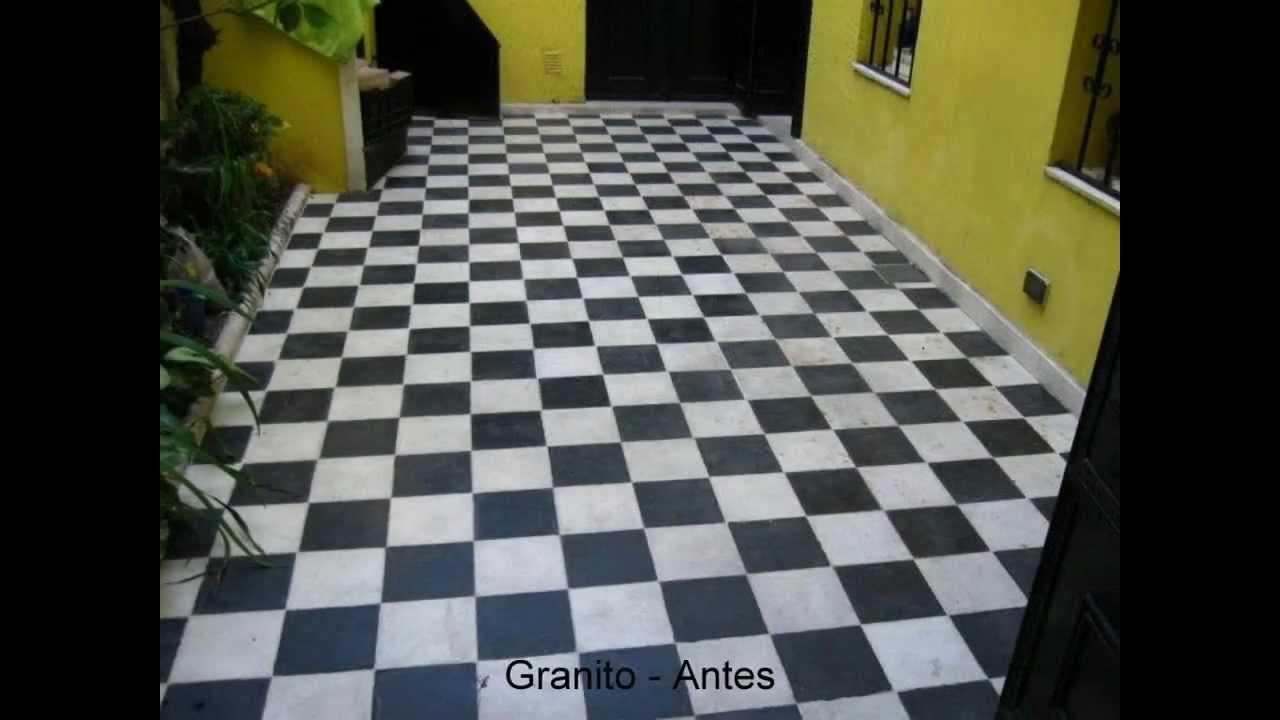 Recuperaci n de pisos youtube for Cera para pisos de marmol