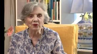 Elena Poniatowska habla sobre Puebla y Guillermo Haro