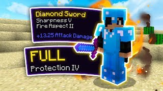 MAXIMUM ENCHANTS (FULL PROT 4 SHARP 5) - Hypixel UHC YouTuber Event