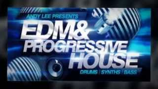 EDM Progressive House Samples - Andy Lee Presents EDM Progressive House