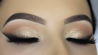 Smoked Out Winged Liner Glam Makeup Tutorial