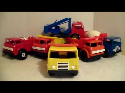 Gay Toys Inc. (American Plastic Toys) Truck Lot 1970s