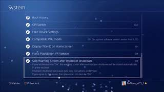 PS4 Jailbreak Debug Settings 6.20
