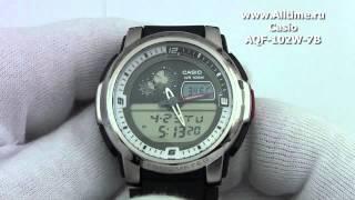 Мужские японские наручные часы Casio AQF-102W-7B(Подробное описание: http://www.alltime.ru/catalog/watch/374/casio/Man/9183/detail.php?ID=58376&back=list., 2013-04-23T12:25:10.000Z)