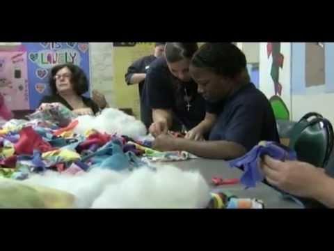 Doll making at the ACI
