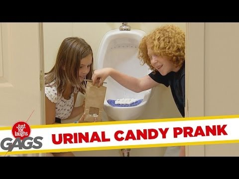 Throwback Thursday: Kids Selling Urinal Cake As Candy