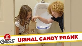 throwback thursday kids selling urinal cake as candy