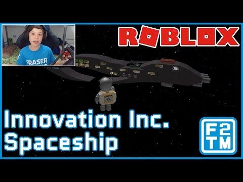 Innovation Inc. Spaceship Roblox