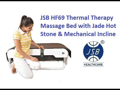 Thermal Therapy Massage Bed With Jade Hot Stone And Mechanical Incline Jsb  Hf69