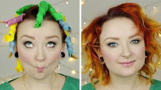 Test sprężynek do loków: Curlformers / Magic Leverag ♡ Red Lipstick Monster ♡