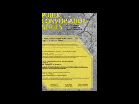 Vacant Land | March 15 | 2017-2018 Public Conversation Series