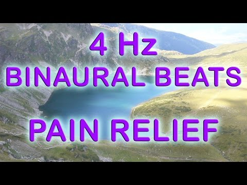 8 Hours Brain Rеlax and Pain Relief: 4Hz Delta Binaural Beats