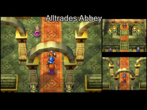 Dragon Quest VI [DS] (No Commentary) #058, Clearvale: The Flying Bed and Healie