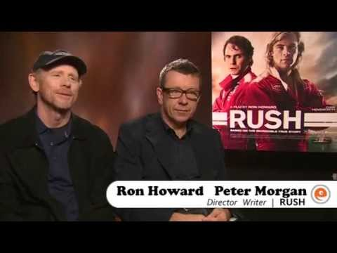 Rush: Video interview with Ron Howard & Peter Morgan