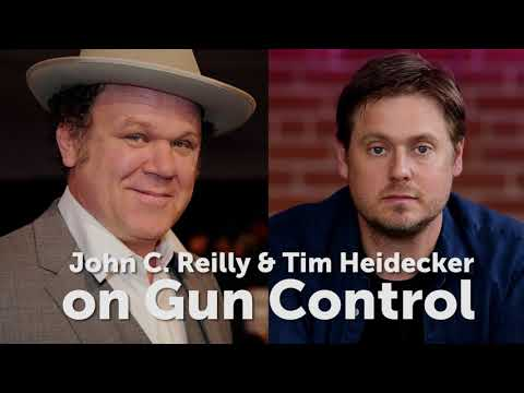 John C. Reilly and Tim Heidecker on Gun Control - Office Hours LIVE 10.5.17