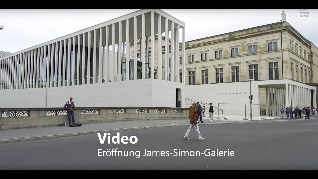 James Simon Galerie Chipperfield Bau Wird Eingang Zur Museumsinsel Youtube