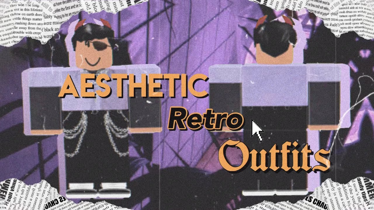 Aesthetic Roblox Retro Outfits For Boys Youtube