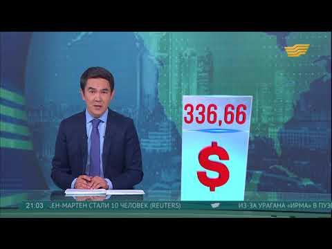 Национальный банк РК сделал прогноз по курсу тенге к доллару